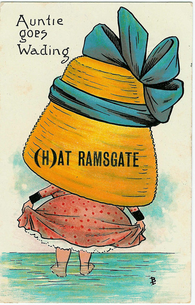 Ramsgate comic postcards