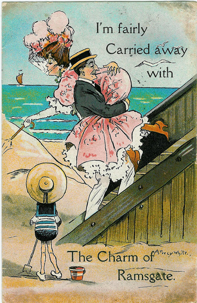 ramsgate seaside postcard
