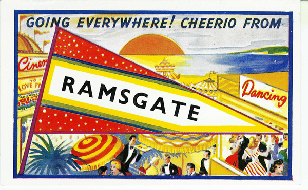 Ramsate comic postcards