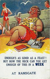 Feast Postcard
