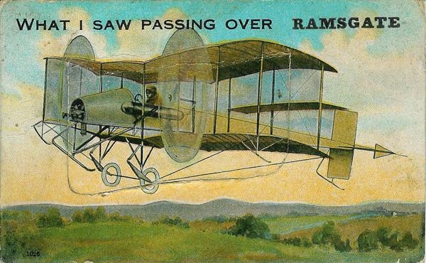 Ramsgate comic postcards