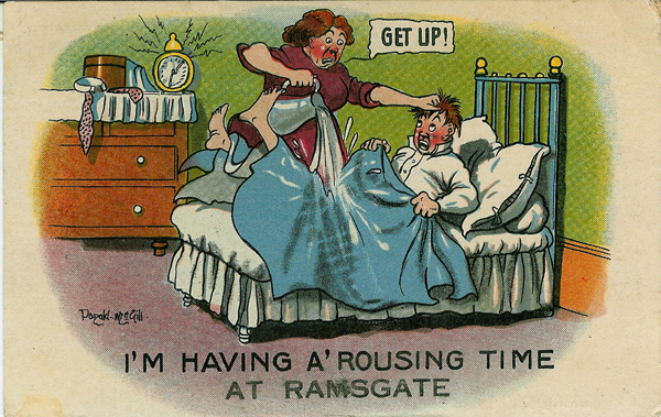 comic postcard from Ramsgate