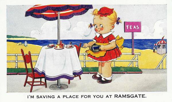 ramsate comic postcards