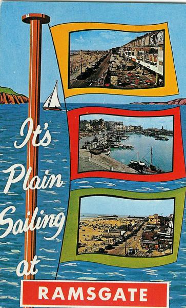Ramsgate seaside postcard