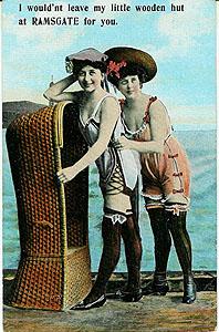 Wooden Hut Postcard