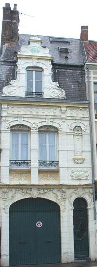 1904 Art Nouveau building, Boulogne Sur Mer