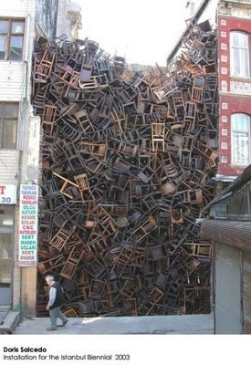1500 Chairs in Istanbul