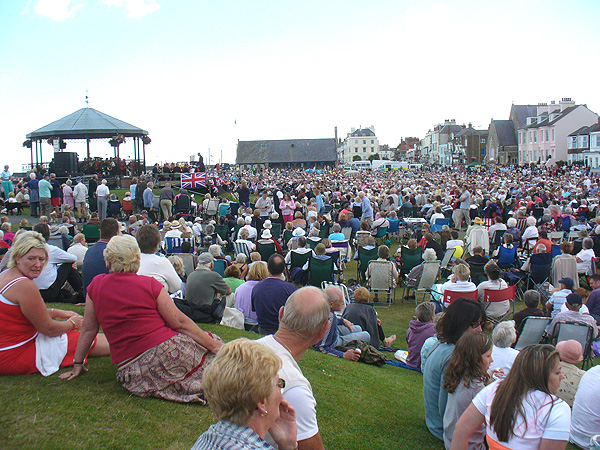 Royal Marines Band at Deal