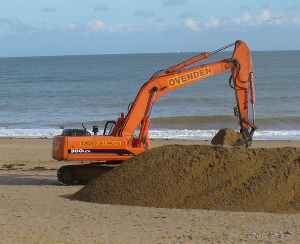 Ramsgate sands being shifted