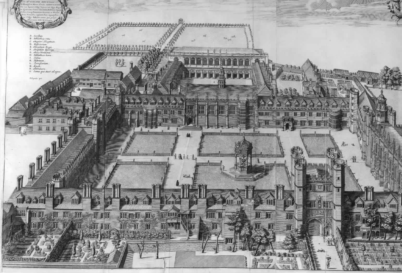 great court Trinity Cambridge