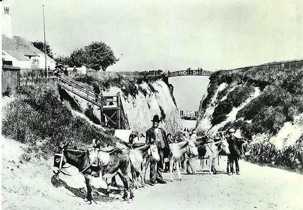 donkey stand at Newgate Gapway