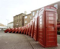 not the Harbour phone boxes