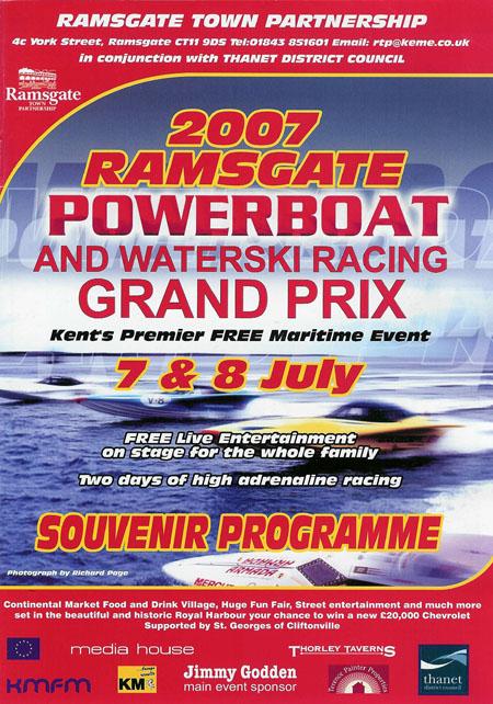Powerboat Grand Prix brochure