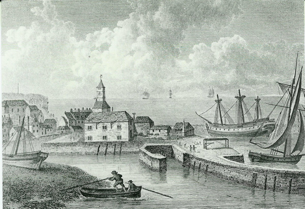 old harbour scene Ramsgate
