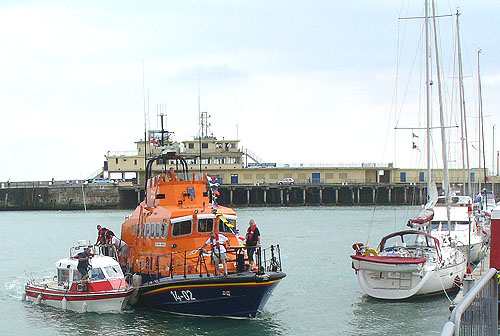 RNLI Ramsgate doing their thing