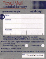 special delivery form