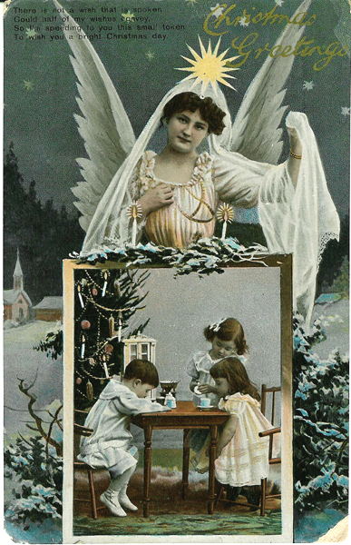 vintage greetings card